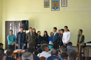 Evangelism in Cluj Prison with Danish brothers