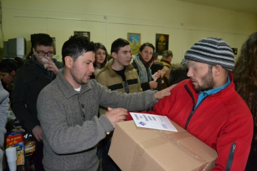 First Cristmas parcels have arrived to inmates from Aiud Prison